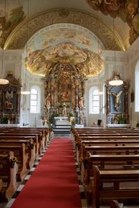 Pfarrkirche Oberleutasch innen