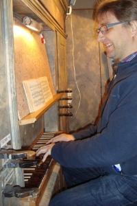 Organist Michael Gerhold
