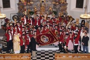 Fahnenweihe der Musikkapelle Leutasch 24. November 2018
