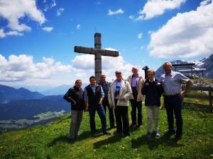 Erzbischof Hans Josef Becker von Paderborn zu Besuch in Leutasch