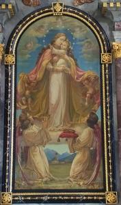 Seitenaltar links Marienbild 1130