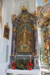 Seitenaltar links Marienbild 1132